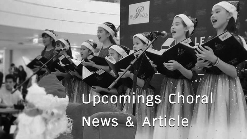 Upcoming Choral News&Article